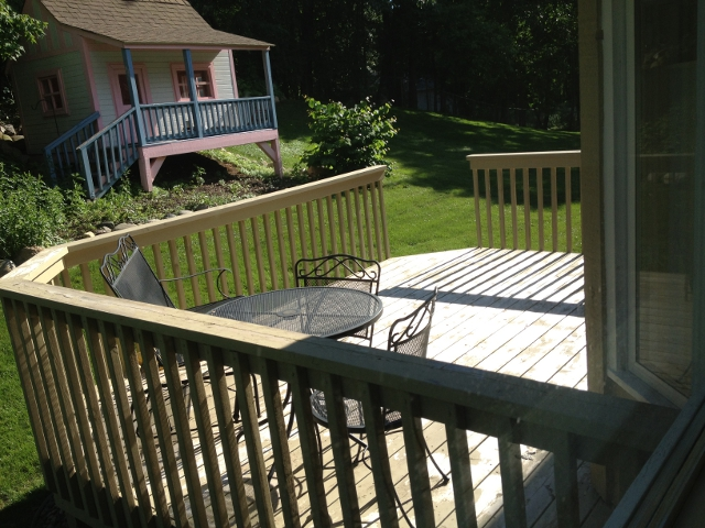 Big Stained Deck